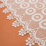 merletto bianco di colore della nappa delle guarnizioni 15yards della crema bianca largamente 23.2cm della frangia