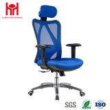 Стул офиса сетки высокого качества голубой с заголовником Китаем Factury