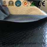 Кожа одежды PU крокодила для ткани/мешка