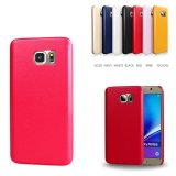 Classic Design Soft PU Leather Phone Bumper Case, PU Case Shell para Samsung Note 5 7