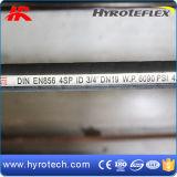 Slang van de Olie van de hoge druk de Rubber Hydraulische (SAE 100R9/DIN EN856 4SP)