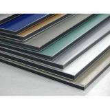 Panneau composé en aluminium matériel de décoration de construction d'enduit de polyester