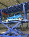 Двойная платформа лифта автомобиля палубы 3000kg для стоянкы автомобилей