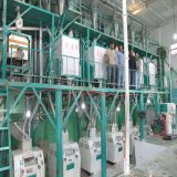Planta ultramarina do moinho do milho do serviço para o processamento da farinha do milho da instalação