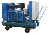 Compressore d'aria diesel portatile ad alta pressione della trasmissione a cinghia