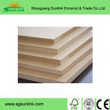 precios de madera del MDF de la fila del panel de fibras de la tarjeta del MDF de 2mm-30m m