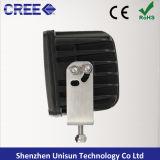 12V-24V 100W 8000lm de 6 pulgadas para trabajo pesado del CREE LED de la lámpara del trabajo