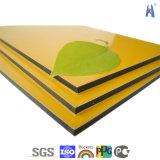 Nuevos materiales de construcción de aluminio / aluminio de revestimiento de la pared / panel compuesto de aluminio ACP