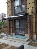 Het Afbaarden van de Schaduw van de Zon van het polycarbonaat voor Balkon met het Frame van het Aluminium