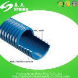 Manguito de jardín espiral reforzado plástico del agua del polvo de la succión del PVC