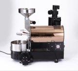 Machine électrique ou de gaz de café de brûleur avec l'acier inoxydable