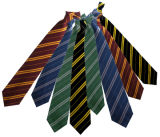 Ataduras de cables liberables tejidas seda de las corbatas de las corbatas de los lazos de seda