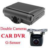 2CH Blackbox HD van de auto DVR 720p de Dubbele Camera van het Registreertoestel van de Lens