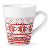 Embleem Gepersonaliseerde Weggevertjes Mok van Kerstmis van 12 Oz de Ceramische