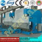 Тип машина гидровлической стальной плиты Wc67y & складывая