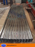 Tôle d'acier galvanisée ondulée