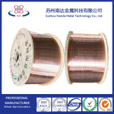 Fil en aluminium plaqué de cuivre pour des câbles de rf