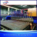 Автомат для резки Multi CNC плазмы и пламени газового резака для стальных листов
