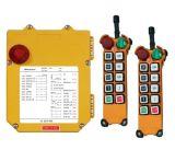 Venta caliente 8 teledirigidos de radio industriales de las direcciones 220VAC para el alzamiento F24-8d de la grúa