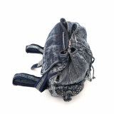 2015 Frauen-Form-Niet-Freizeit-Dame Denim Backpack (MBNO040039)