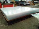Lámina de acrílico 1/8'' a 1'' para interiores y exteriores