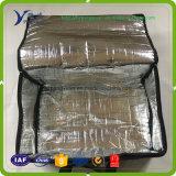 냉각기를 위한 열 절연제 직물은 알루미늄 호일 길쌈한 직물 EPE 거품 포장을 자루에 넣는다