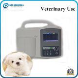 Tre macchina portatile del veterinario ECG/EKG di Digitahi dei canali con lo schermo di tocco