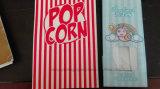 Sacchetto dell'alimento del sacco di carta del popcorn con il legame dello stagno