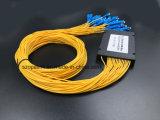 광학 섬유 케이블 Gpon 원거리 통신 1X32 아BS 상자 PLC 쪼개는 도구 Sc/Upc
