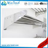 Tipo mensola del tubo dell'acciaio inossidabile della cremagliera di memoria del supporto della parete per la cucina