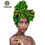 Imprimé foulard africain de gros de la tête ordinaire
