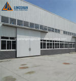 La estructura de acero de bajo coste Prebabricated nave industrial galpón Hangar taller de construcción con certificado SGS