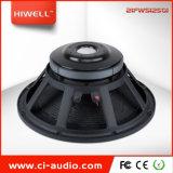 3600W de puissance de crête haut-parleur professionnel 21'' caisson de basses de ferrite avec bobine acoustique 5.