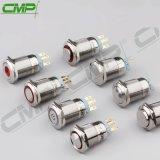CMPの金属は19mmのリングLEDの押しボタンのパネルスイッチを防水する