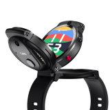 4G Smart Watch Phone, Dual camera GPS en Beidou Heart Rate Monitoring Waterproof Sports Fitness, Clamshell, Rotating, Unique Design
