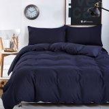 100% algodão roupa de cama macia cama tingidas simples (CCI665)
