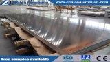Plaque en aluminium de qualité marine Feuille de travail en mer les navires (5052/5083/5086/5154/5454/5754/6061)
