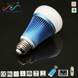 Commerce de gros de l'Énergie de l'enregistrement maison intelligente de l'éclairage mobile APP RGBW Smart WiFi Ampoule de LED témoin de lampe de logement