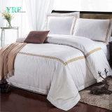 Feuille de lit en coton de l'hôtel Yrf définit Lit King Size Housses de couette de luxe