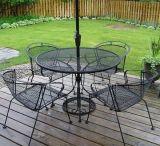 一定の鉄の鋼鉄椅子を食事する高品質の鋼鉄