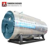 Wns8-1.25-Yq 8 Tphの天燃ガスの不用なオイルの販売のためのディーゼル発射された蒸気ボイラ