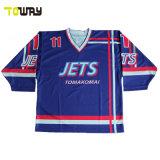 Comercio al por mayor China barata sublimación personalizado Camiseta de Entrenamiento de Hockey sobre Hielo Equipo