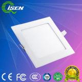Iluminação do painel de LED com difusão rápida 6W