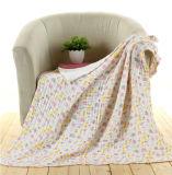 卸し売り再使用可能な綿のガーゼの赤ん坊の綿モスリン毛布