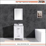 Heißer verkaufender Badezimmer-Schrank T9199-48W des festen Holz-2017