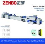 Van het blad-Voedend van de hoge snelheid het Winkelen van de Gift Document Zak die Machine maken met (het Hoogwaardige kleine giftdocument zak maken (Zb700CS)