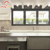 China manufactura nuevo diseño de aluminio y vidrio de seguridad de la ventana de aluminio