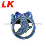 競争のイベントのためのカスタム金属のBlingのきらめきメダル
