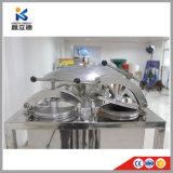 Escala Pequeña planta de refinación de aceite de girasol crudo y refinado soja prensa de aceite mecánica