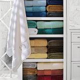 De naar maat gemaakte Katoenen Handdoeken van het Satijn voor Volwassenen met Dikke Badhanddoek